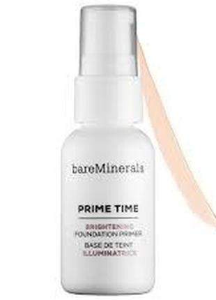 Основа под макияж bare minerals prime time brightening