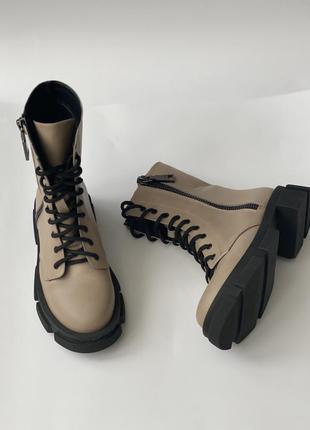 Топ качество, ботинки- стильные новинки  ,кожа натуральная, с 36-41р3 фото