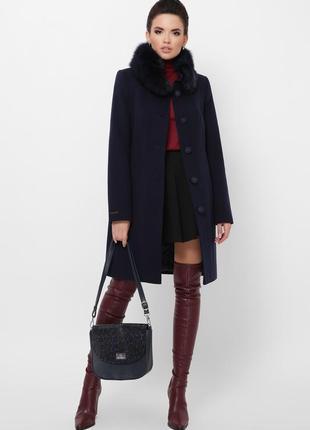 Роскошное деловое зимнее пальто