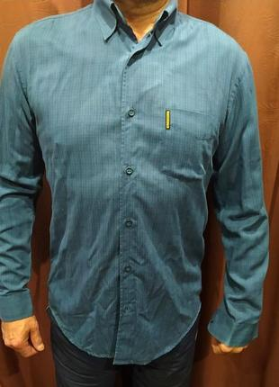 Рубашка мужская 52-54 giorgio armani италия
