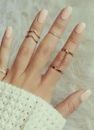 Набор колечек кольцо на фаланги