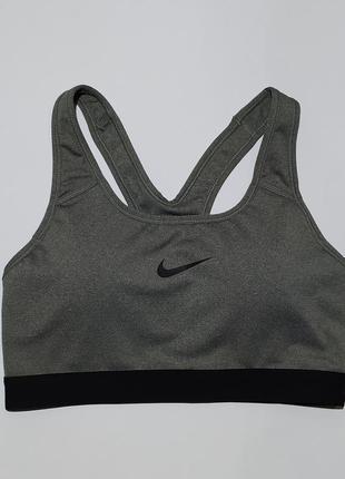 Nike оригинал топ топик для спорта бега фитнеса размер м