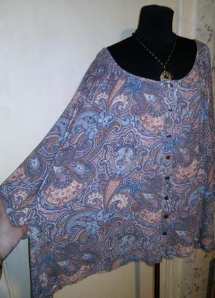 Натуральная-хлопок,трикотажная блузка на пуговицах,очень большого размера,giorgi magallani