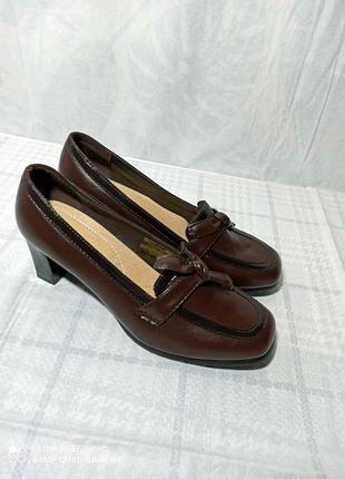 ❌❗ всё до 50 гр! трендовые, классические туфли -  лоферы на толстом, прочном каблуке