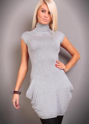 Трикотажное тонкое платье fresh made, германия