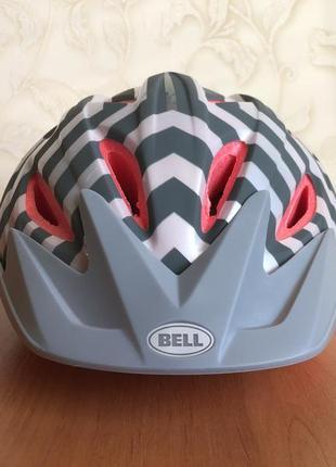 Велосипедный шлем bell 53-57 см + крепление фляги в подарок