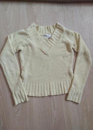 Укороченный свитер женский
