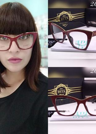Женские очки для имиджа и работы за компьютером!