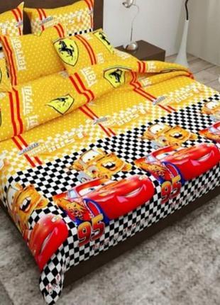 💥 детское постельное белье тачки 💥