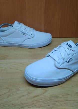 Оригинальные белые кеды vans 37,5 - 38р