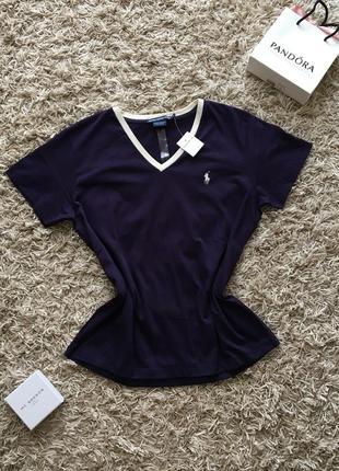Новая женская футболка оверсайз майка поло ralph lauren