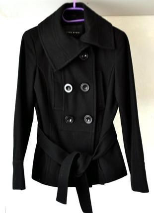 Драповое пальто, пиджак известный бренд