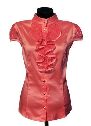 Распродажа. красивые летние блузы. кружево и гипюр. разные. р-р 46-48