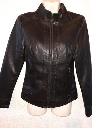 Куртка женская кож зам, yarina