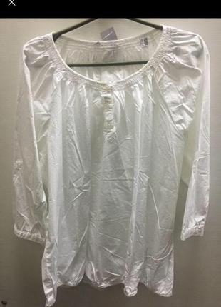 Блуза женская белая tcm tchibo