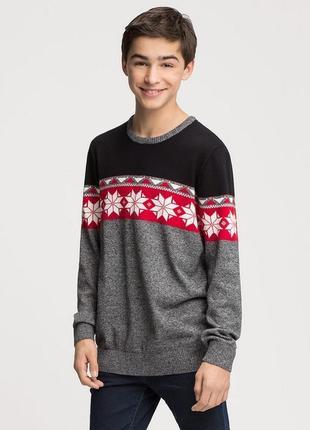 Хлопковый свитер с-а 122-176