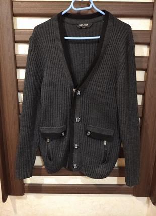 Мужской свитер, кофта мужская, светр чоловічий, свитер на пуговицы, свитер осень