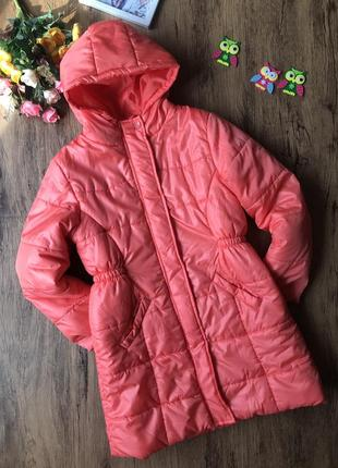 Куртка для девочки осень весна утепленная 7 лет. курточка для дівчинки