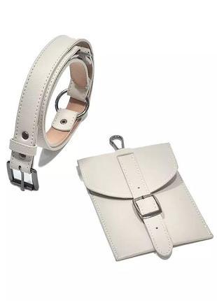Модный пояс/ремень с сумочкой, тренд 2020