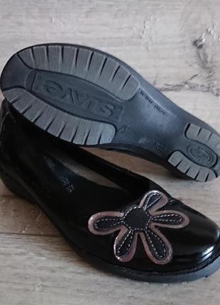 Туфли балетки лаковая кожа 37 р fly flot