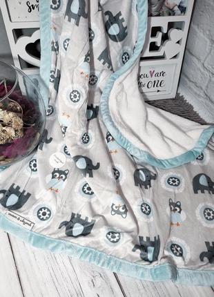 Канадский брендовый плед blankets and beyond пледик одеяло покрывало для новорожденных