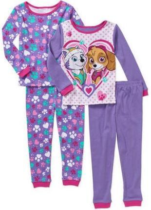 Комплект из 2 пижамок щенячий патруль от nickelodeon