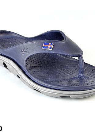 Вьетнамки женские, синие, р. 36 - 41 медицинская обувь,118220