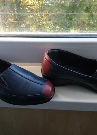 Туфли pavers р.38 кожа