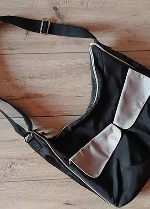 Родительская сумка для родителей малышей parentingclub большая прочная