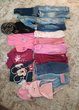 Штаны, джинсы на девочку