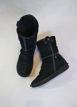 Натуральные сапоги угги ботинки полусапожки sole diva р. 37 (uk 4) 23,5 cm