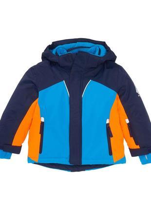 Куртка зимняя для мальчика с логотипом yeti kiki&koko
