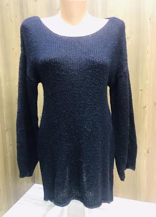 Вязаный свитер-платье topshop