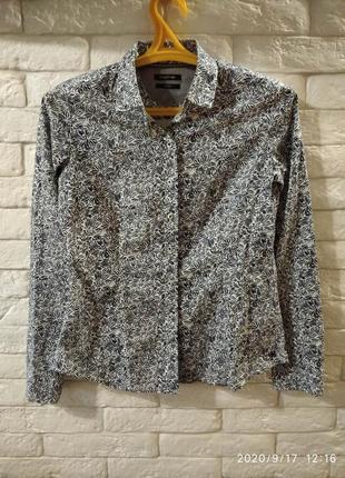 Хлопковая рубашка marc o'polo