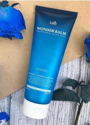 Увлажняющий бальзам для ломких волос lador wonder balm