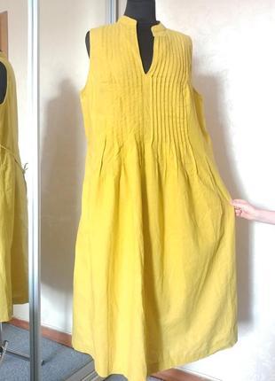 Платье льняное р.18 kaleidoscope батал