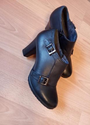 Немецкий бренд,нереально красивые,роскошные,кожаные ботильены,ботильоны,ботинки,ботиночки