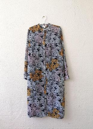 Платье рубашка миди