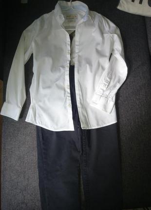 Штаны и рубашка zara (7-9лет)