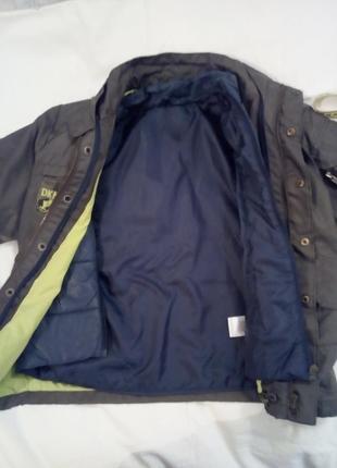 Куртка демисезонная двойная