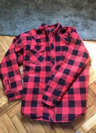 Куртка сорочка рубашка на подкладке