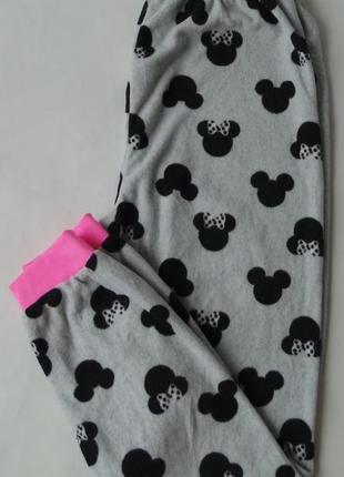 Пижамные штаны тонкий флис primark англия 13-14 лет
