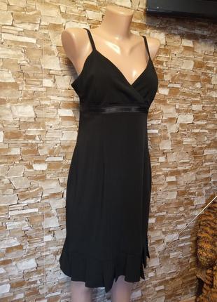 Датский бренд,нереально красивый,роскошный,базовый сарафан,платье,на брительках,стрейч