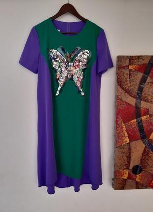 Красивое платья с  бабочкой