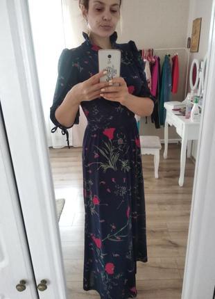 Вінтажне ніжне плаття