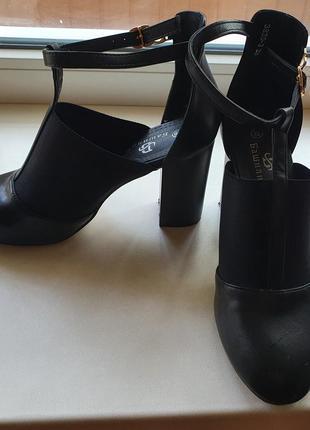 Туфли осенние(кожа)