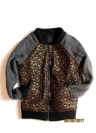 Xs - s silvian heach бобмер куртка просто шикарнюча