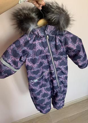 Комбинезон зимний детский lassie by reima