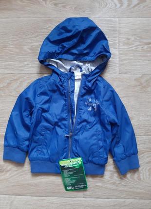 Курточка ветровка для мальчика 74/80