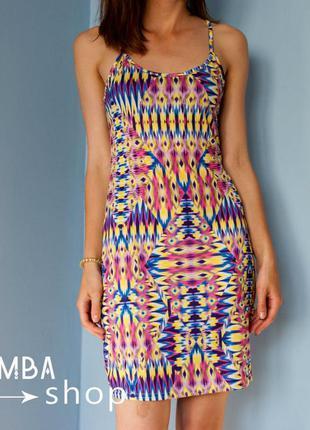 Платье на бретельках с открытой спинкой boohoo